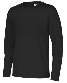 Naturvit Ekologisk Fairtrade Långärmad T-shirt Med Eget Tryck