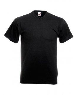 V-Ringad herr t-shirt