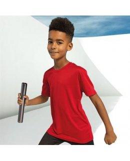 Tränings t-shirt Barn med eget tryck - TriDri