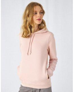 Modern hoodie dam med eget tryck