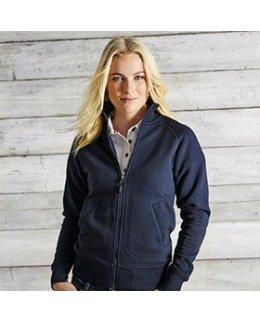 Savannah zip-tröja dam med eget tryck