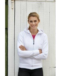 Georgia Dam zip hoodie med eget tryck