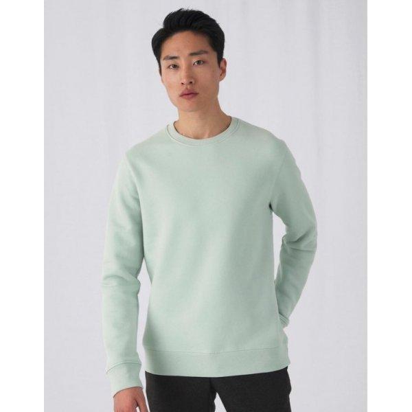 Svart Sweatshirt EXTRA mjuk herr med eget tryck