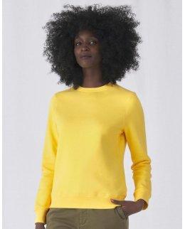 Svart Sweatshirt EXTRA mjuk dam med eget tryck