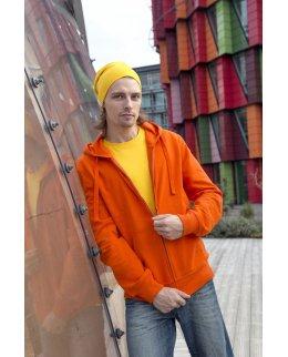 Eko zip-hoodie herr med eget tryck Fairtrademärkt