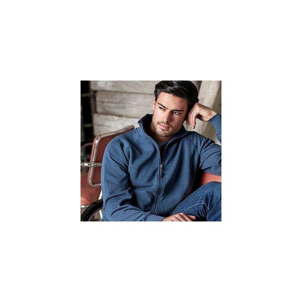 Denver zip-tröja herr med eget tryck