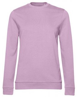 Candy pink dam sweatshirt med eget tryck