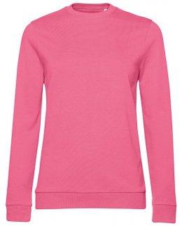 Pink fizz dam sweatshirt med eget tryck