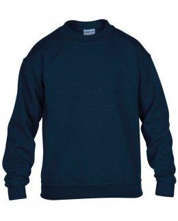 Marinblå standard sweatshirt barn med eget tryck