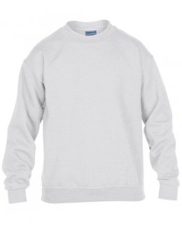 Vit standard sweatshirt barn med eget tryck