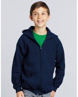 Standard zip-hoodie barn med eget tryck