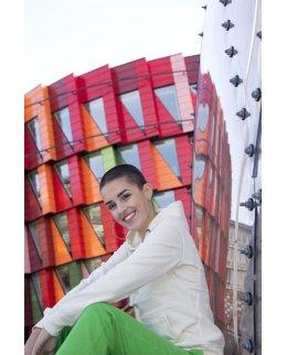 Eko-hoodie dam Fairtrademärkt