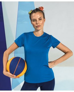 Tränings t-shirt dam med eget tryck - TriDri
