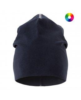 Marinblå Mössa i bomull med eget tryck