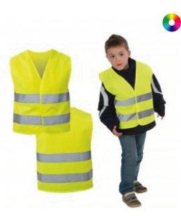 Varselväst Barn med reflex och eget tryck