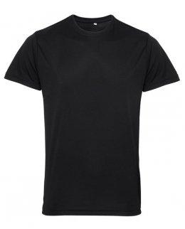 Svart tränings t-shirt med eget tryck -TriDri