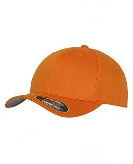 Orange Flexfitkeps 6277 med brodyr - 25,50,75,100-pack
