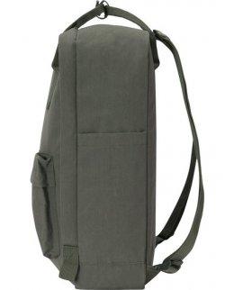 Mörkgrön Frilufts-ryggsäck med egen brodyr