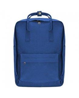 Kungsblå Frilufts-ryggsäck med egen brodyr