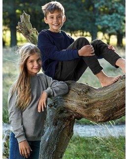 Ekologisk barn sweatshirt med egen design