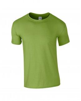 Kiwigrön herr t-shirt med eget tryck