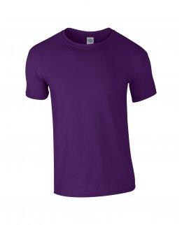 Lila herr t-shirt med eget tryck