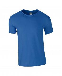 Kungsblå herr t-shirt med eget tryck