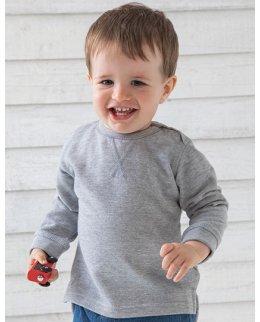 Baby sweatshirt med eget tryck