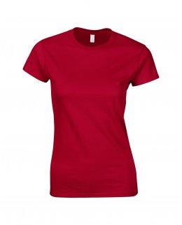 Körsbärsröd tjej t-shirt med eget tryck - Girl