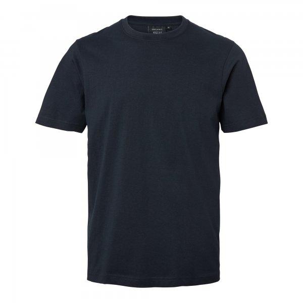 Marinblå barn t-shirt med eget tryck