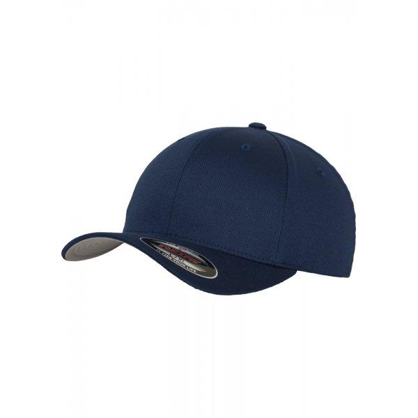 Marinblå Flexfit-keps med egen brodyr