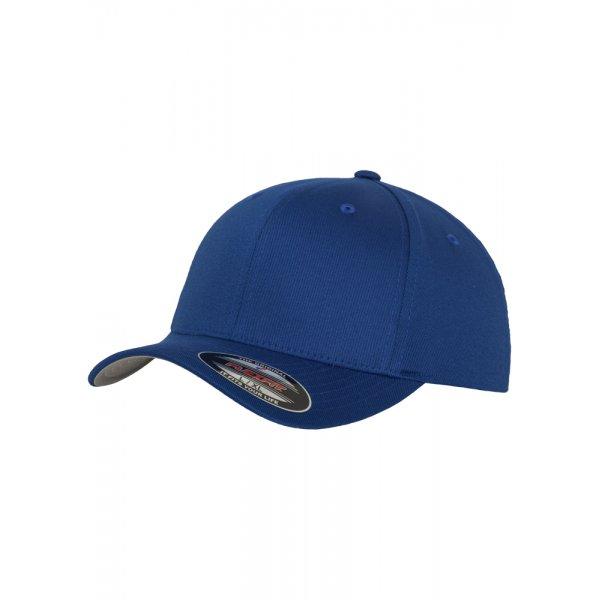 Kungsblå Flexfit-keps med egen brodyr