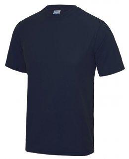 Marinblå tränings t-shirt med eget tryck