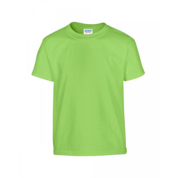 Limegrön barn t-shirt med eget tryck - Standard