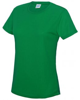 Grön Tränings T-Shirt Dam Med Eget Tryck