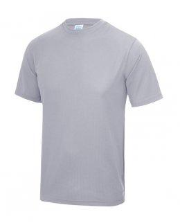 Gråmelerad Tränings T-Shirt Barn Med Eget Tryck