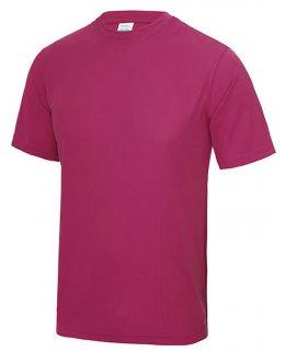 Cerise Tränings T-Shirt Barn Med Eget Tryck