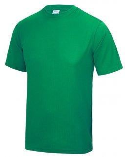 Grön Tränings T-Shirt Barn Med Eget Tryck