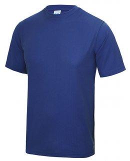 Kungsblå Tränings T-Shirt Barn Med Eget Tryck