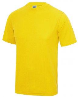Gul Tränings T-Shirt Barn Med Eget Tryck