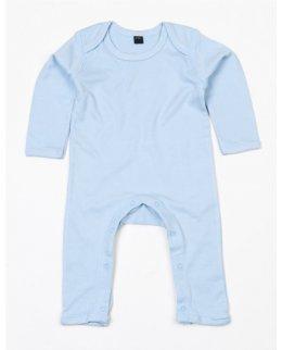 Dusty Blue Jumpsuit barn med eget tryck