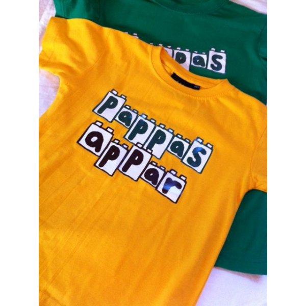 Grön Pappas appar t-shirt