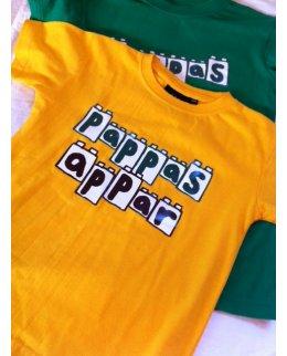 Gul Pappas appar t-shirt