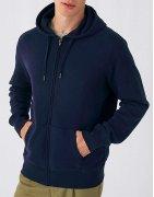 Zip-hoodies för herrar med eget tryck | Ingen minsta upplaga