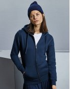 Zip-hoodies med eget tryck i dam-modeller